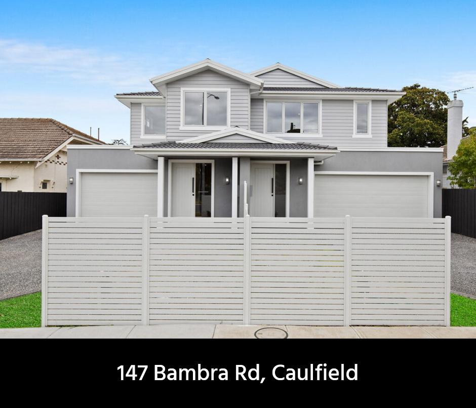 Caulfield home builder