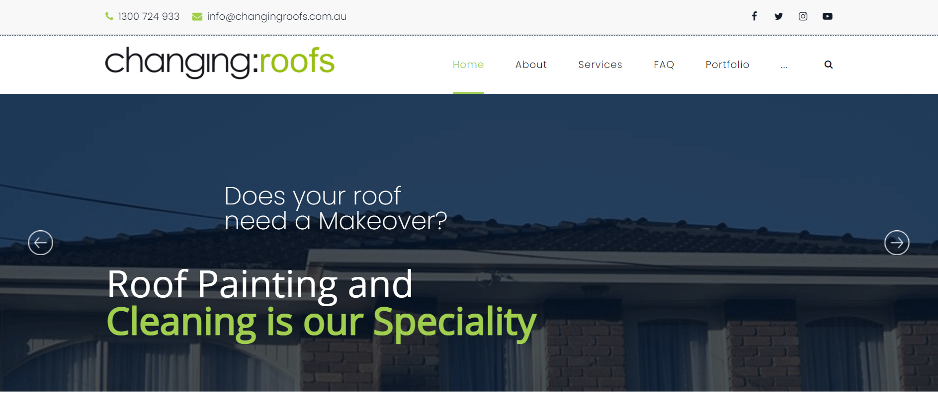changing roofs