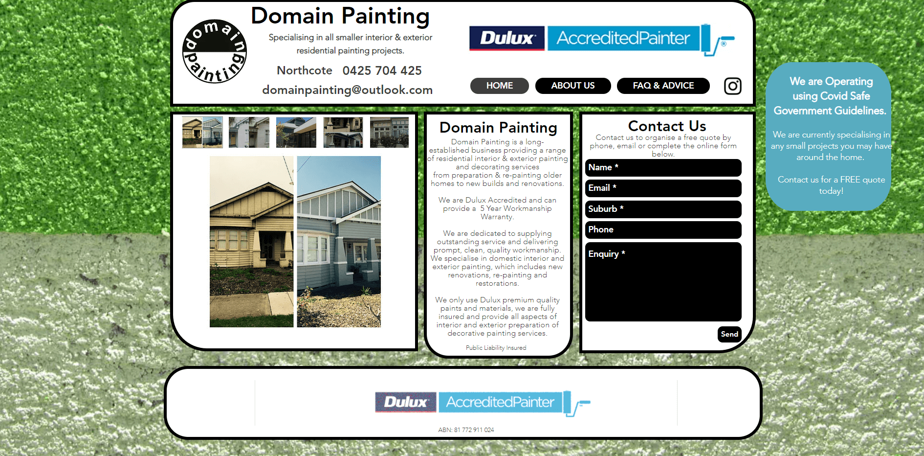 domain painting