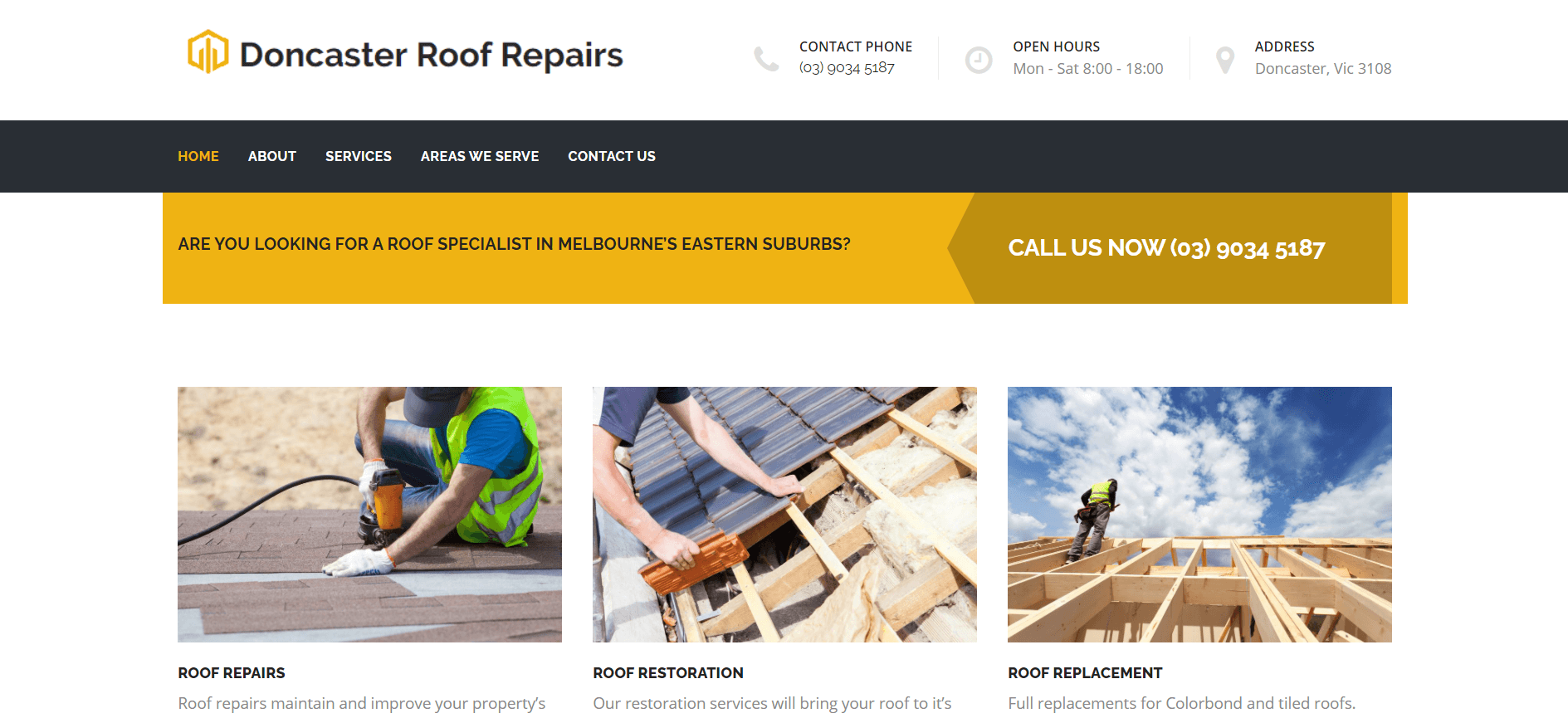 doncaster roof repairs