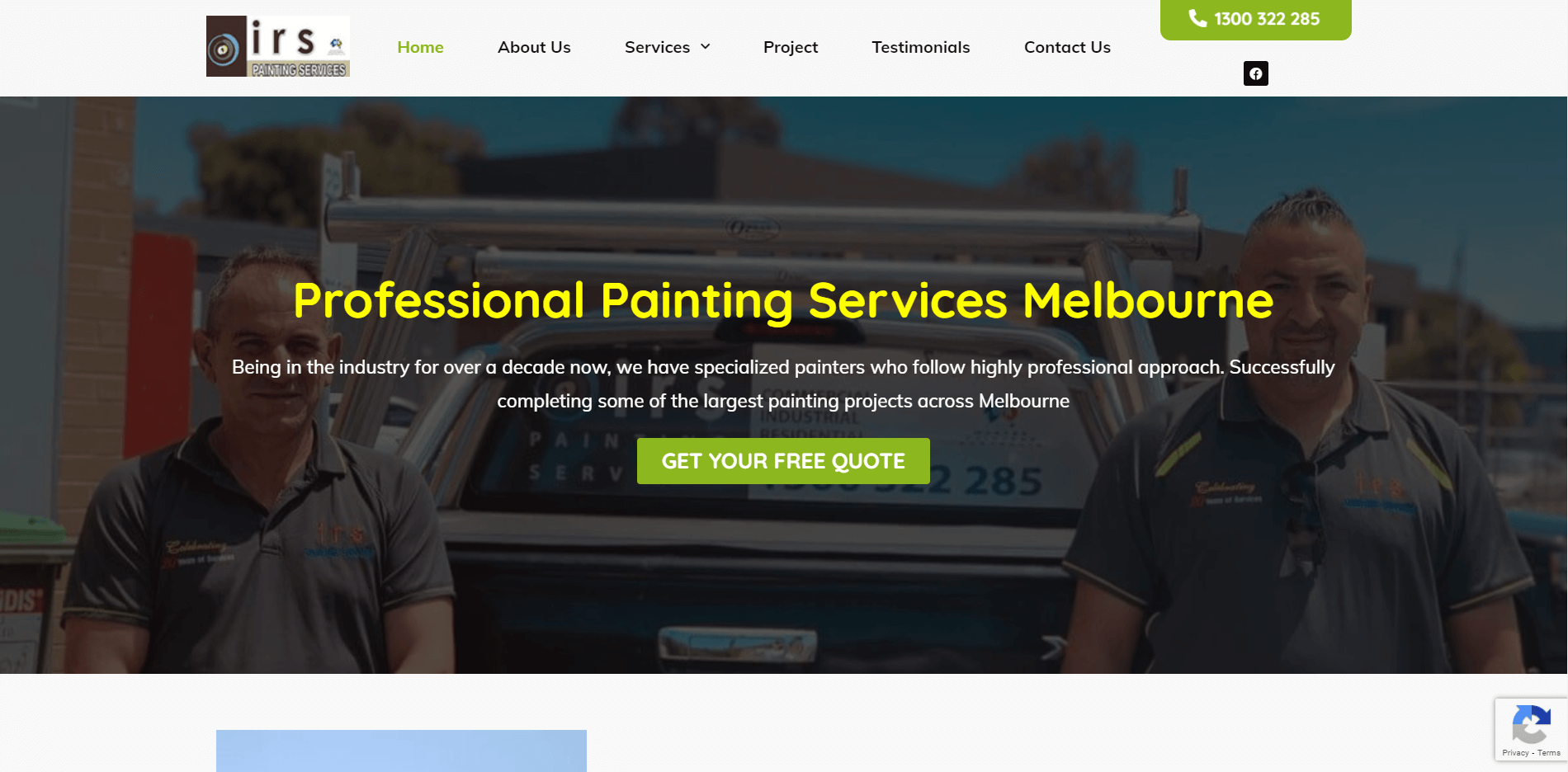 irs painting service