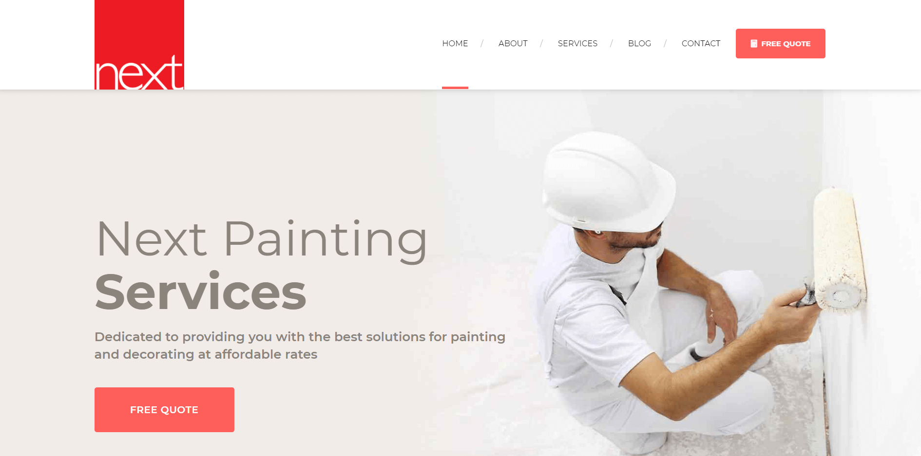 next painting services