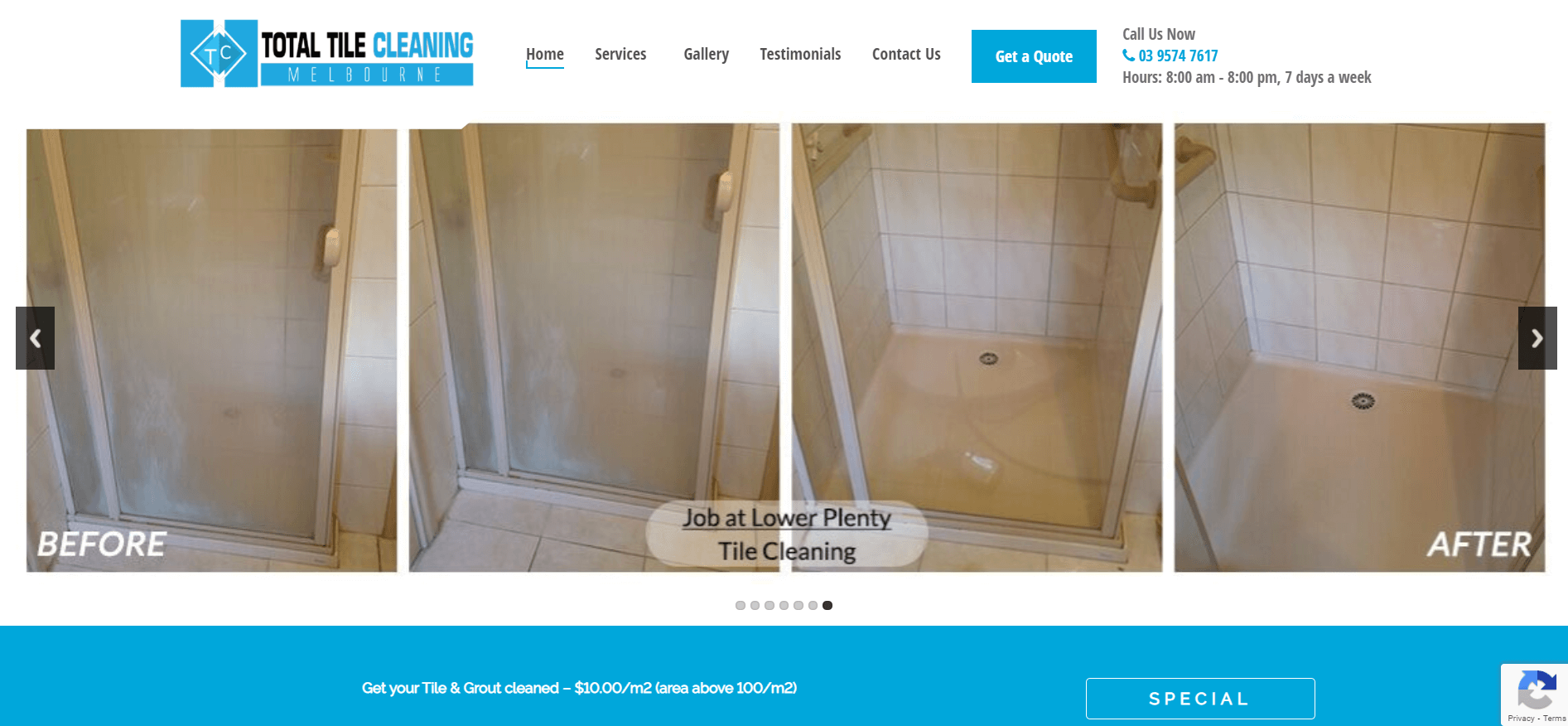 total tile cleaning