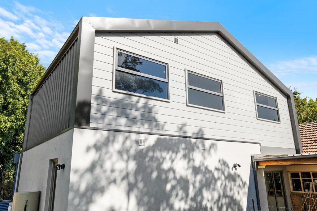 mjs 50 fakenham rd ashburton rear facade 03